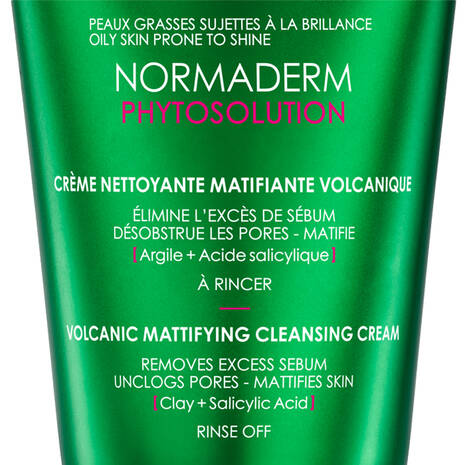 Normaderm Phytosolution Mattifying Clay to Foam Cleanser