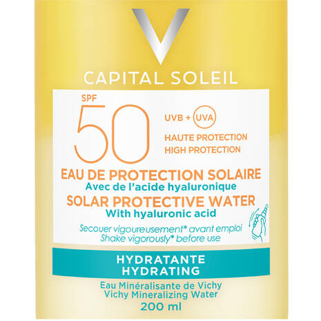 Capital Soleil Solar Protective Water SPF 50 Hydrating